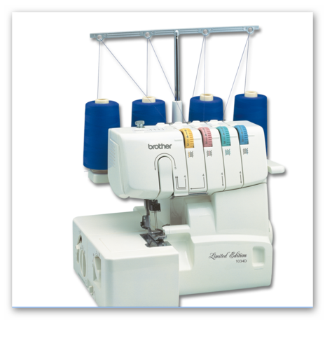 Brother Overlock 1034D LE